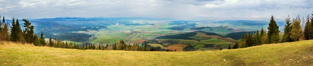 Výhľad vrch Sľubica fotograf Branislav Bruder