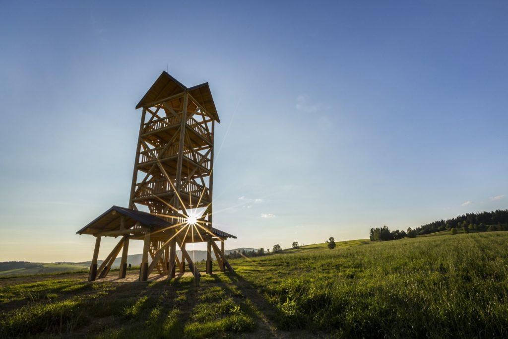Vyhliadková veža Zákamenné. Fotograf Branislav Bruder