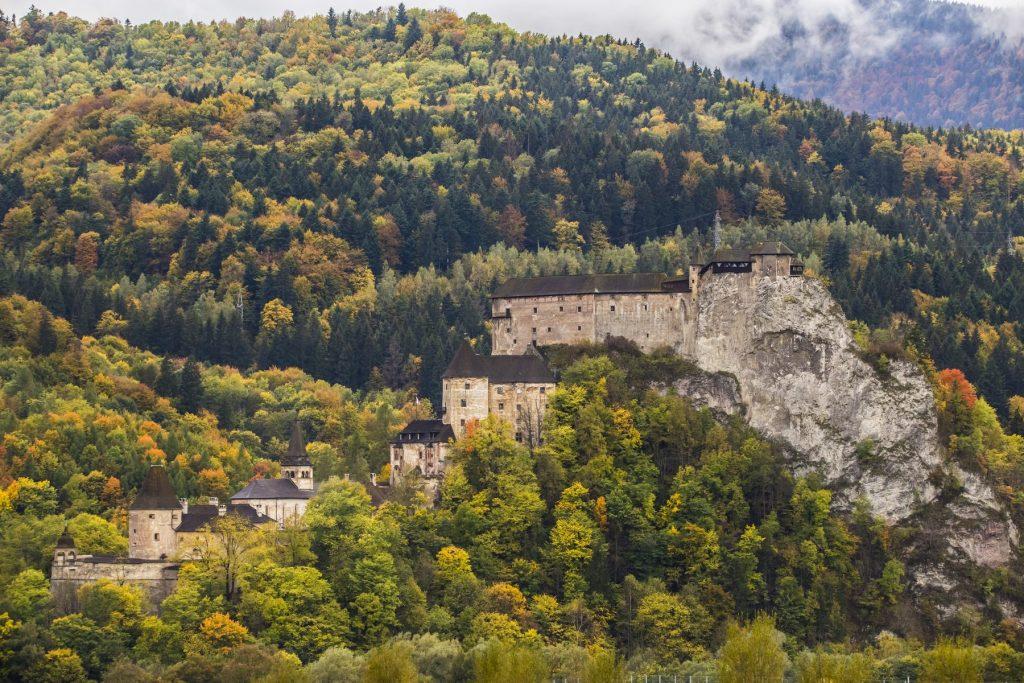 Oravský hrad na Jeseň, Branislav Bruder fotograf