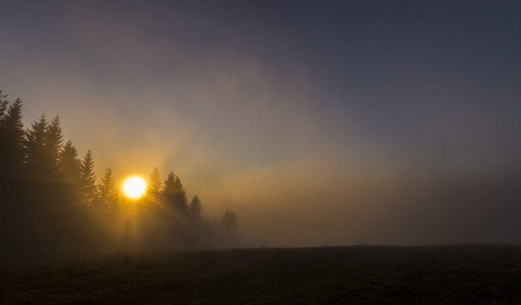 Východ slnka Javorov vrch, Branislav Bruder